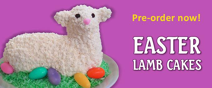 Lamb cakes